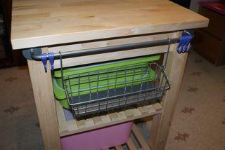 Standing up scrapbook table1 hanging shelf web