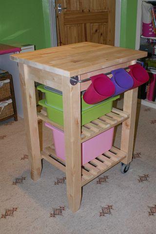 Standing up scrapbook table 2 3 holders web