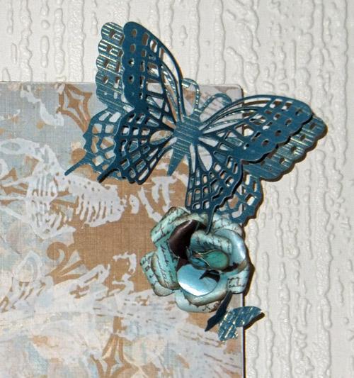 Clock-butterfly