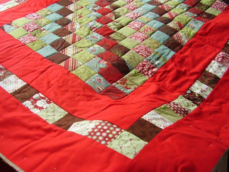 Streak of Sunshine lap quilt nov 2011 pre binding web