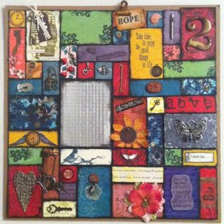 Leanies papercraft patchwork