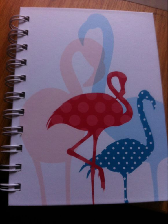 New cover for a note book