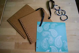Travel journal cover undecorated web