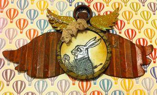 Pocket watch whit rabbit