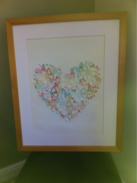 Butterfly canvas **