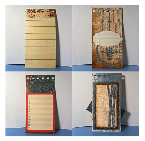 Journalling spots