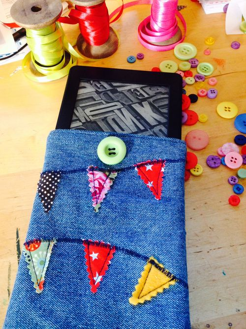 Bunting kindle cover 2