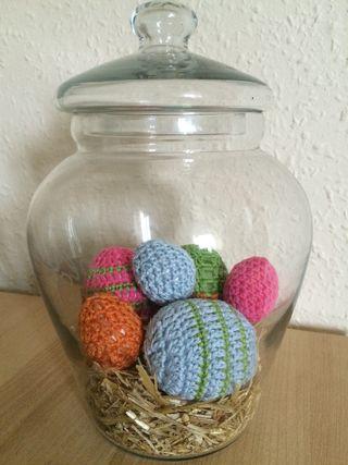 Crochet eggs