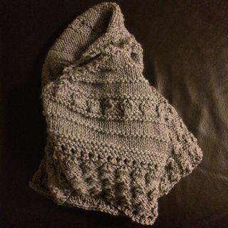 Yarnalong 4 11 15 whispering shawl complete