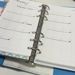 WP planner calendar page