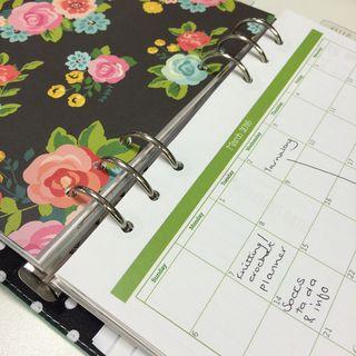 Planner blog post calendar