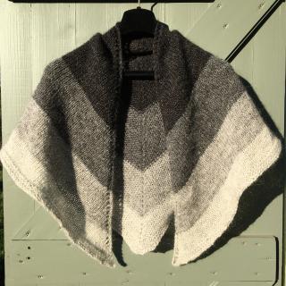 Nordic wind shawl 4