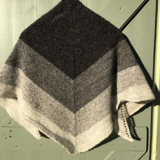 Nordic wind shawl 3