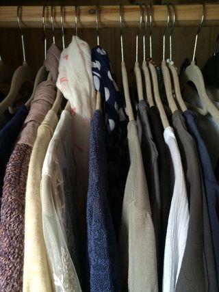 Capsule spring in wardrobe