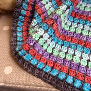 Jo baby blanket close up