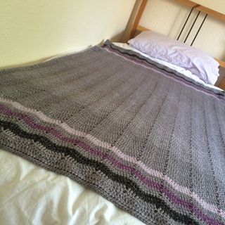 Lavender Fields on bed