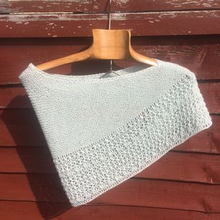 Rosewater shawl