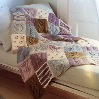 29 01 patchwork throw