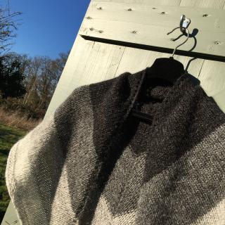 Nordic wind shawl 5