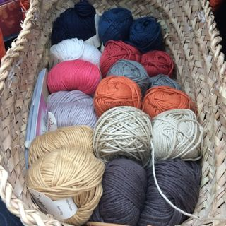 Basket of yarn to make list 15 01 15