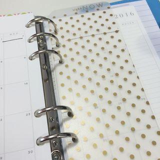 WP planner tab ruler