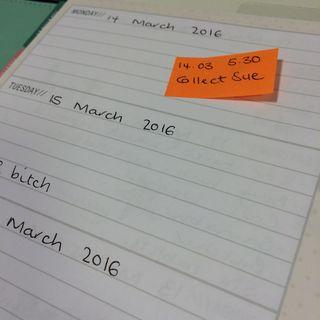 Planner post it idea
