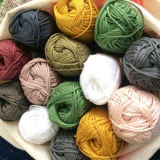 LCR bag of yarn