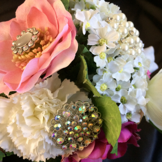 Brooch bouquet 6