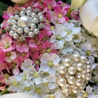 Brooch bouquet 7