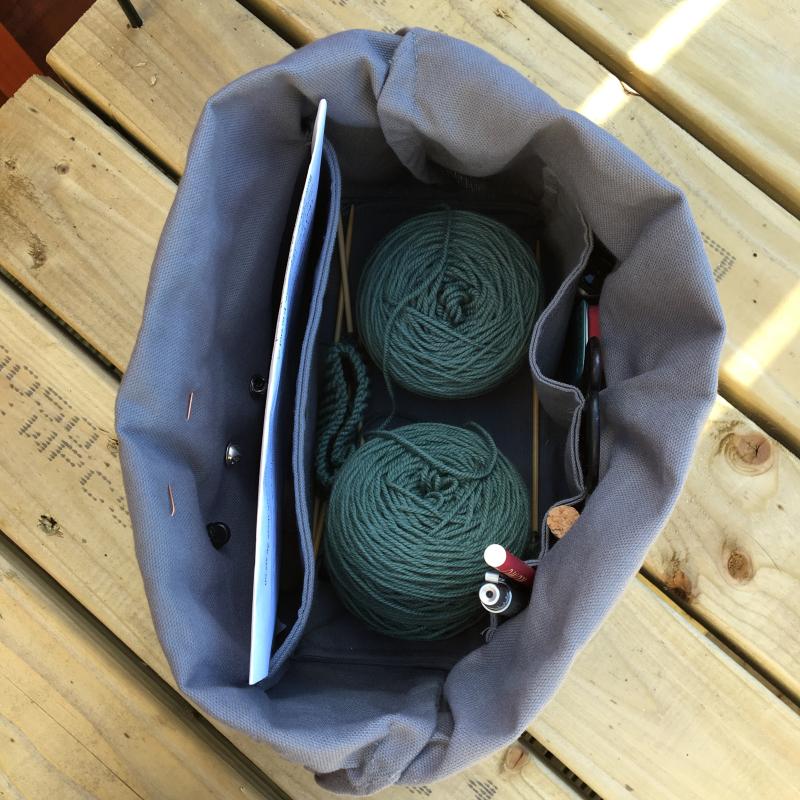 Fringe field bag 2