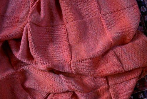 Blanket knitted