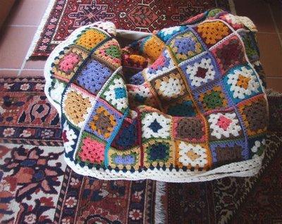 Blanket crochet 1