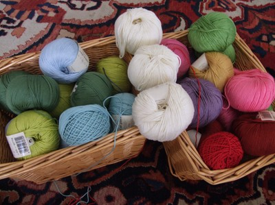 Cotton for a special crochet blanket